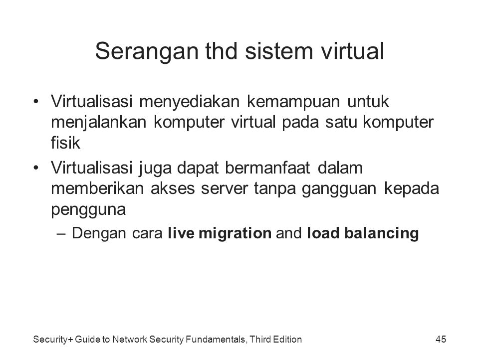 Serangan thd sistem virtual