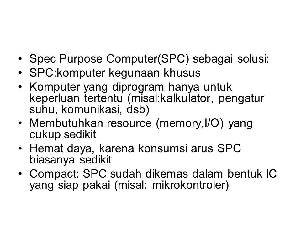 Spec Purpose Computer(SPC) sebagai solusi: