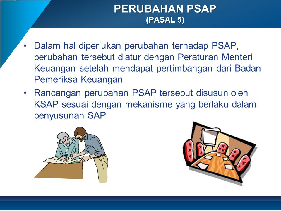 PERUBAHAN PSAP (PASAL 5)