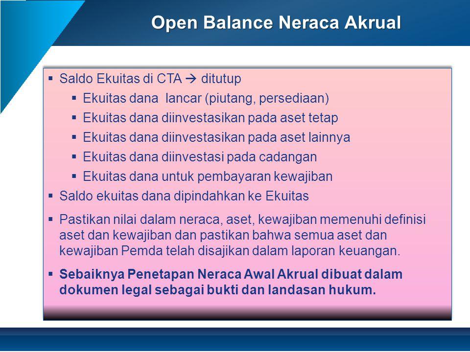 Open Balance Neraca Akrual