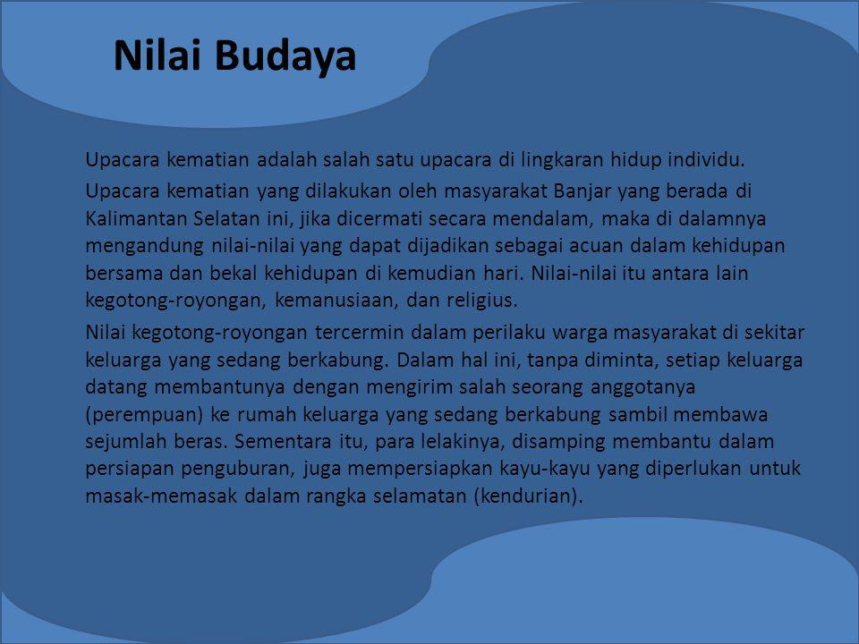 Nilai Budaya
