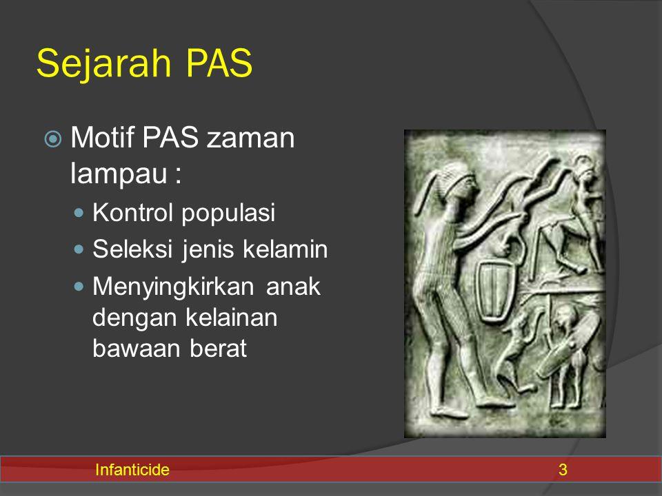 Sejarah PAS Motif PAS zaman lampau : Kontrol populasi
