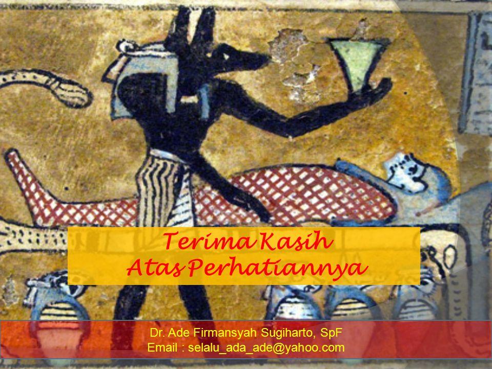 Dr. Ade Firmansyah Sugiharto, SpF