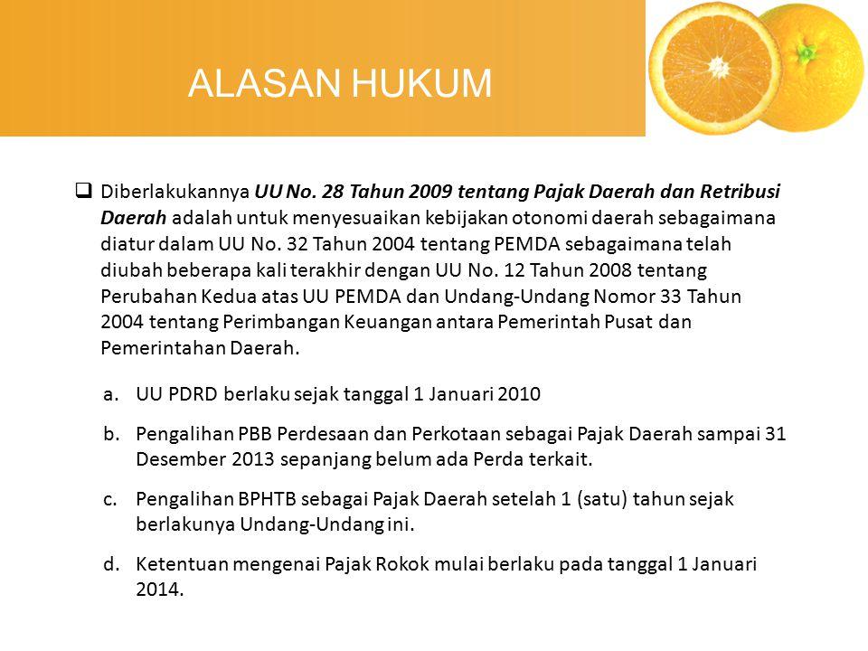 ALASAN HUKUM