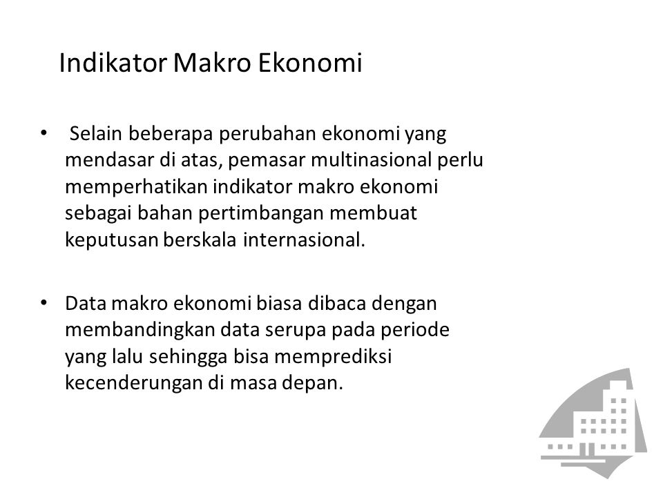 Indikator Makro Ekonomi