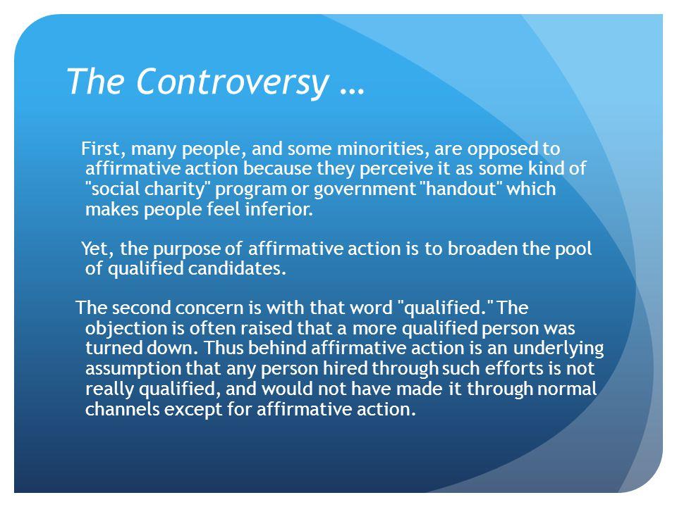 The Controversy …