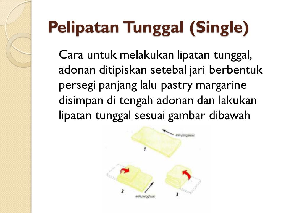 Pelipatan Tunggal (Single)