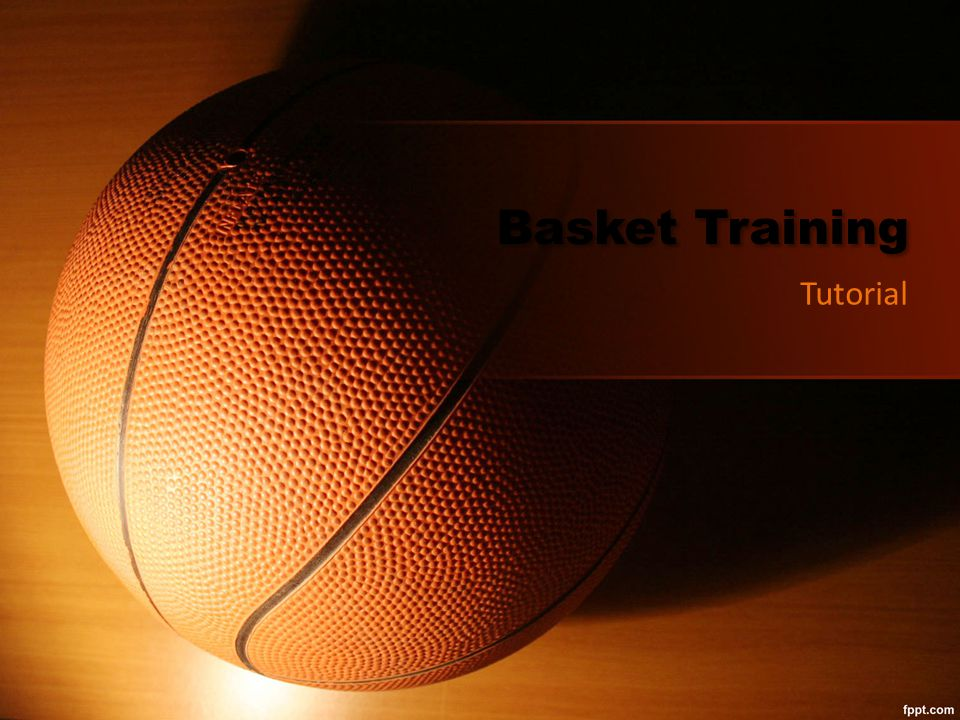 Basket Training Tutorial