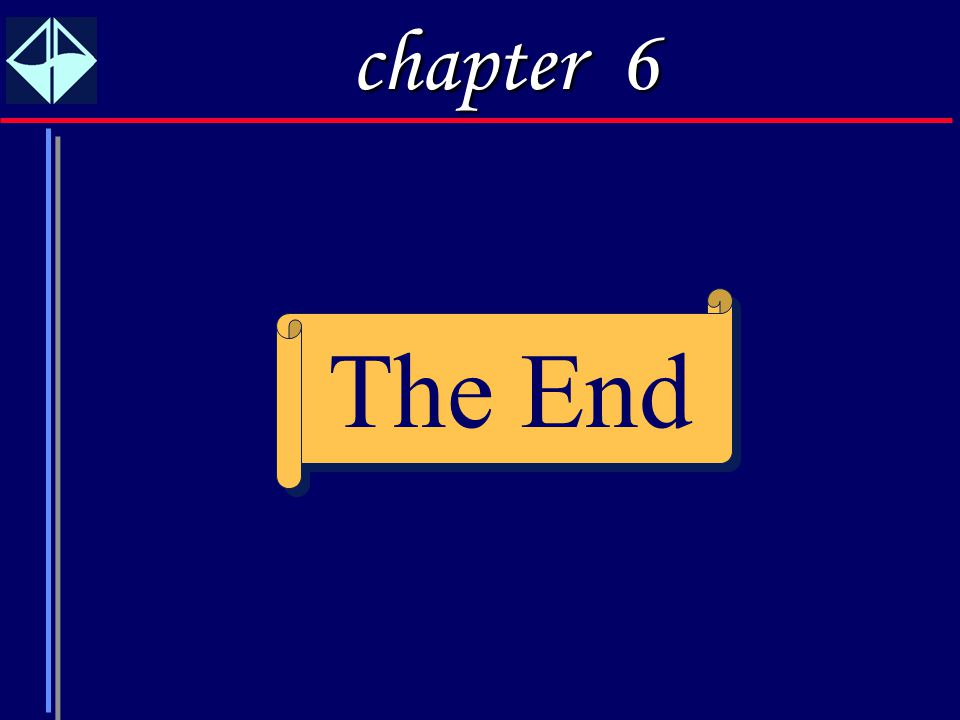 chapter 6 The End