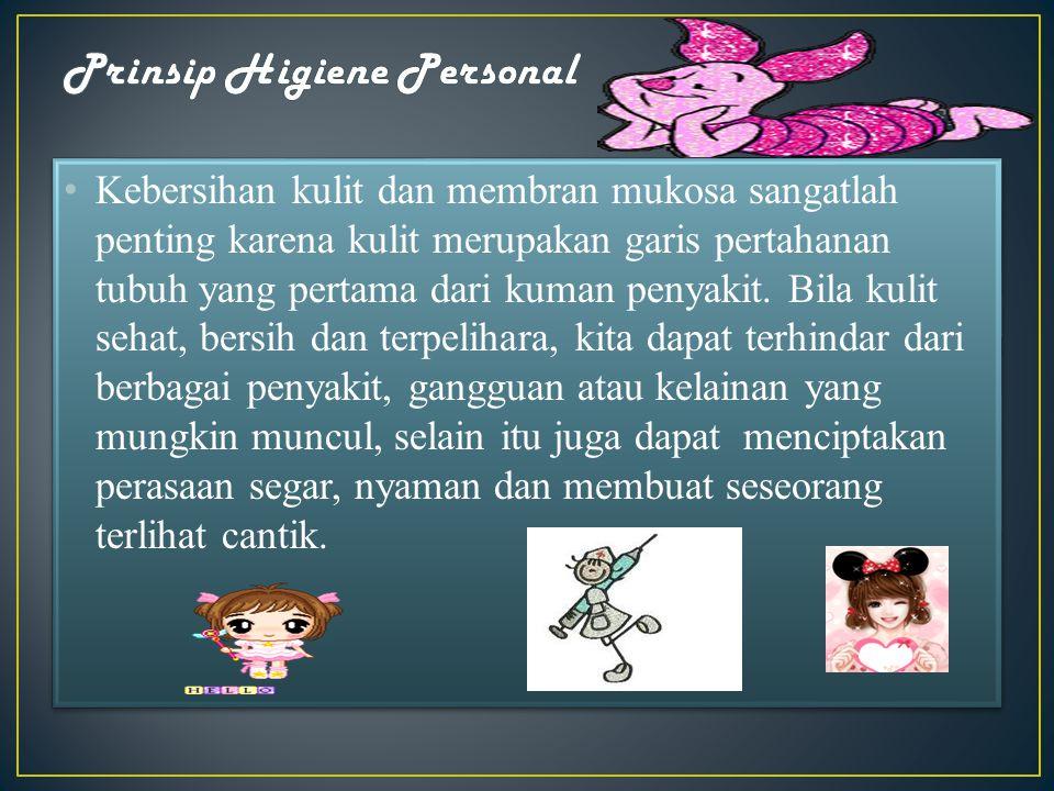 Prinsip Higiene Personal