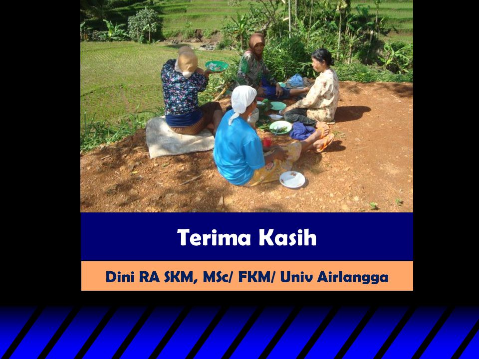 Dini RA SKM, MSc/ FKM/ Univ Airlangga