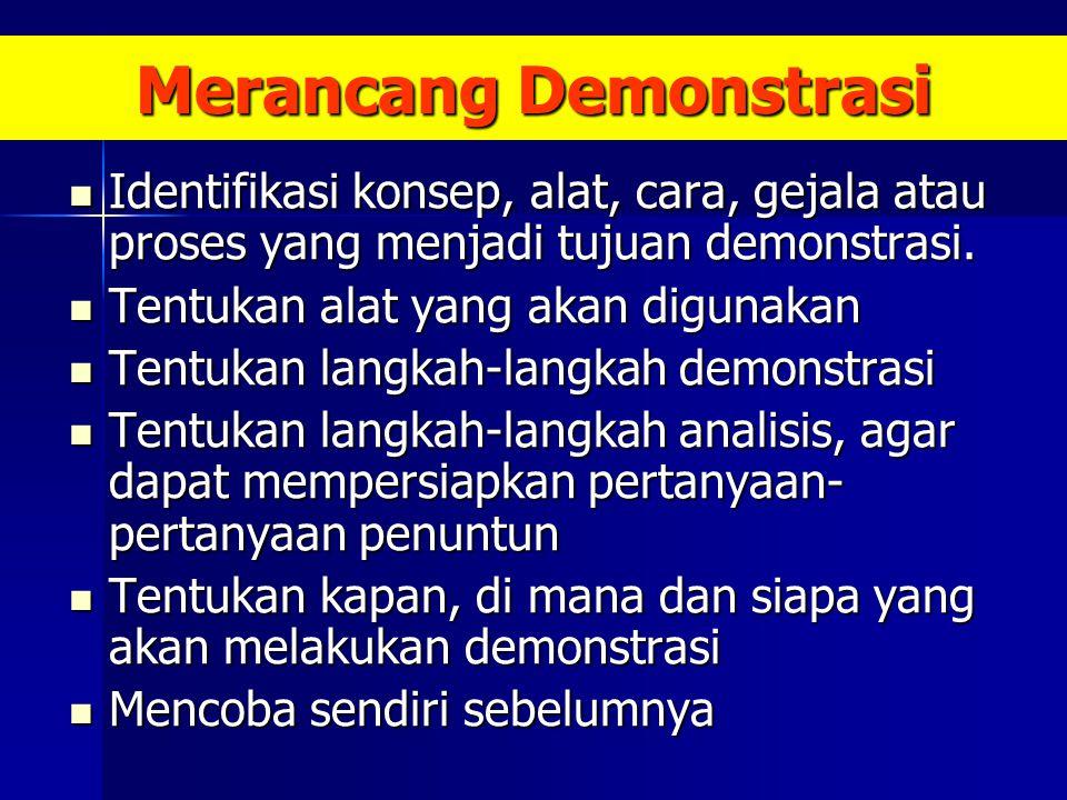 Merancang Demonstrasi