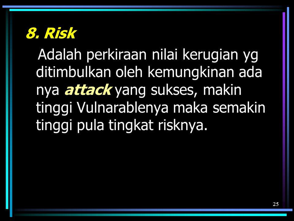 8. Risk