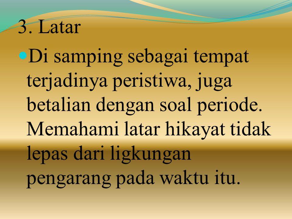 3. Latar