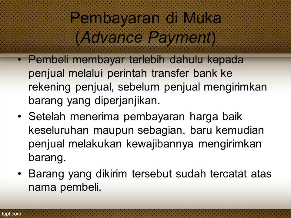 Pembayaran di Muka (Advance Payment)