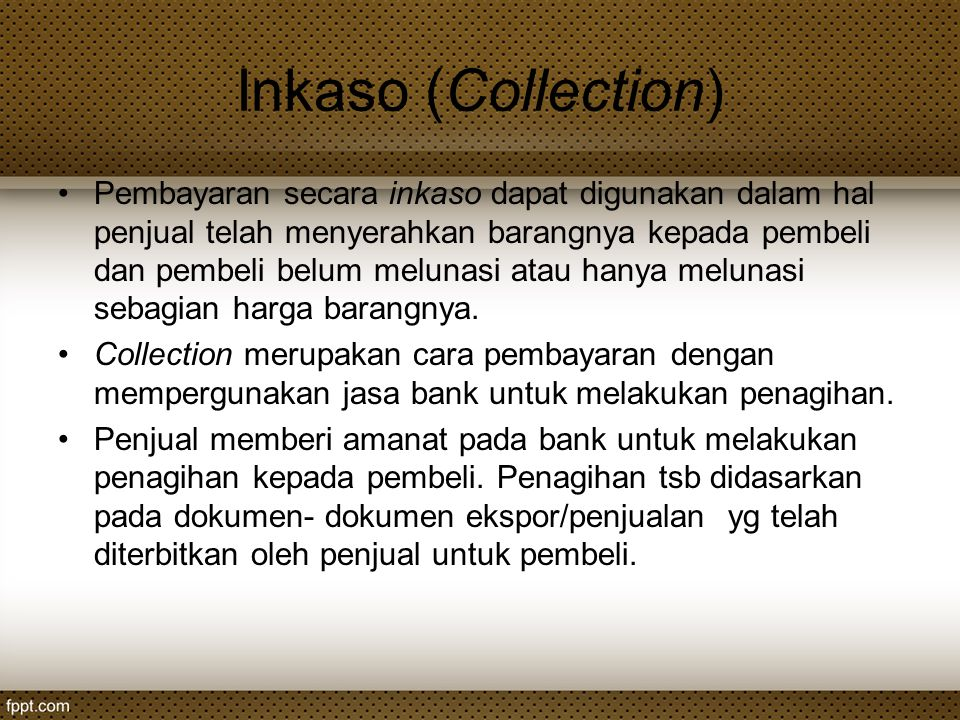 Inkaso (Collection)