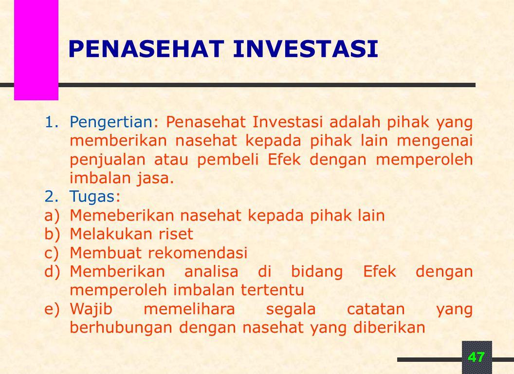 PENASEHAT INVESTASI