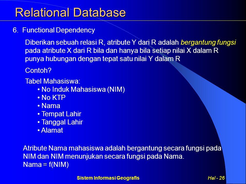 Sistem Informasi Geografis Hal - 26
