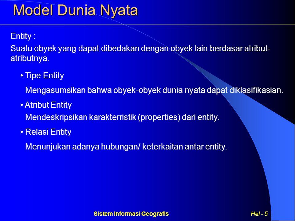 Sistem Informasi Geografis Hal - 5