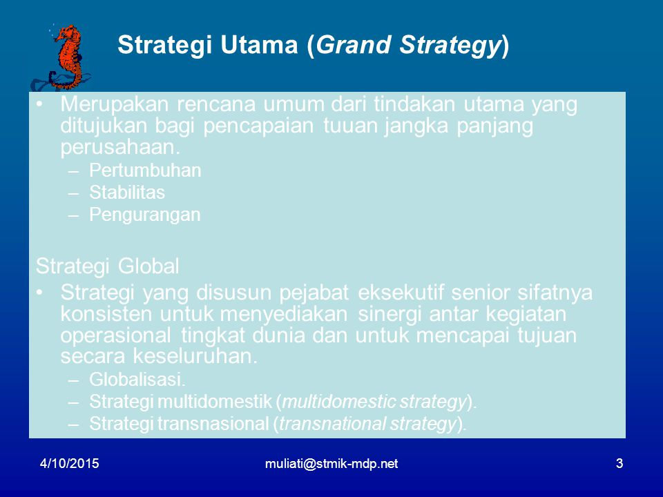 Strategi Utama (Grand Strategy)