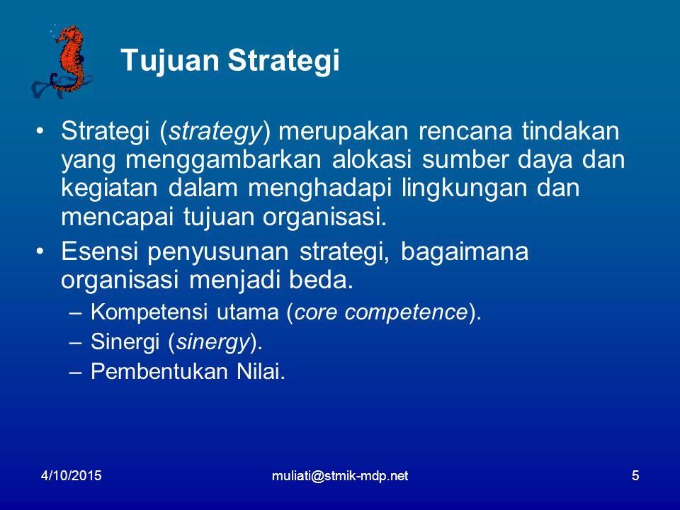 Tujuan Strategi