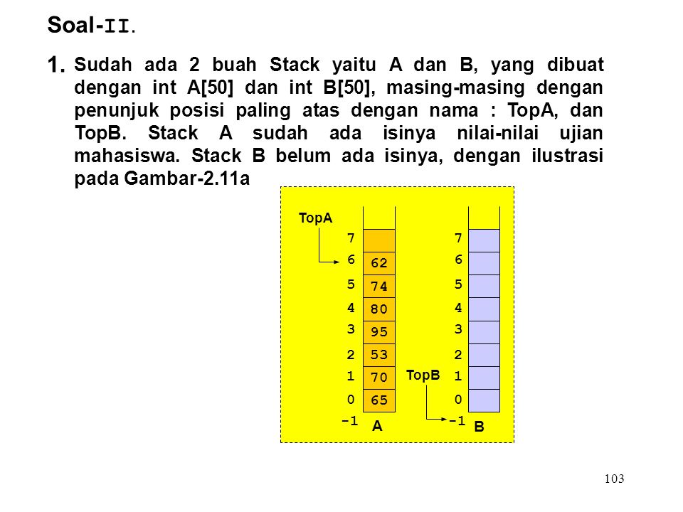 Soal-II. 1.