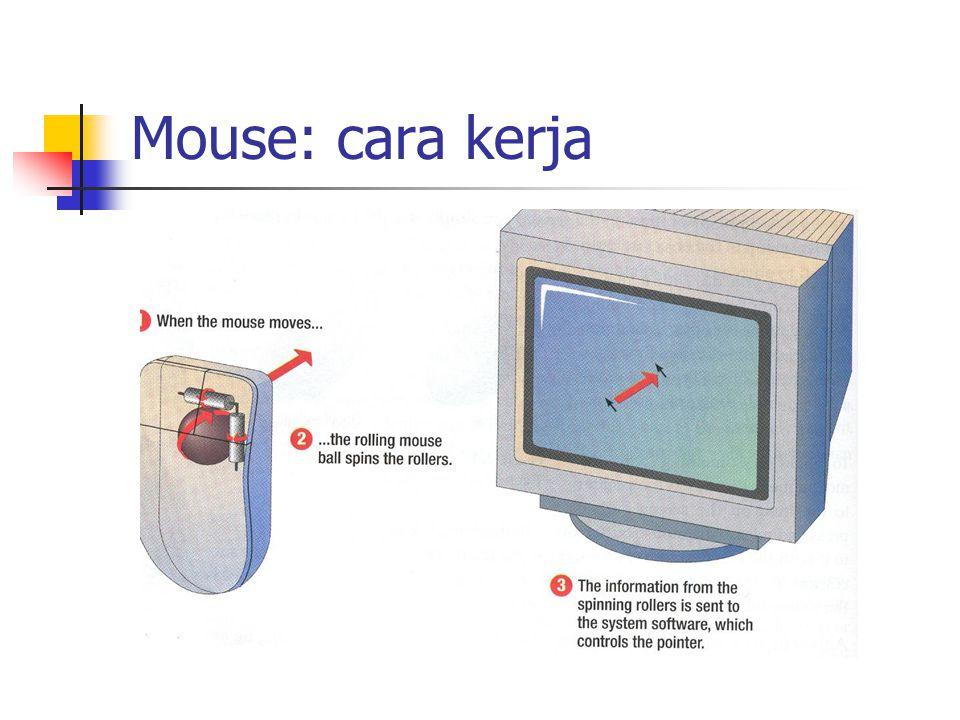 Mouse: cara kerja