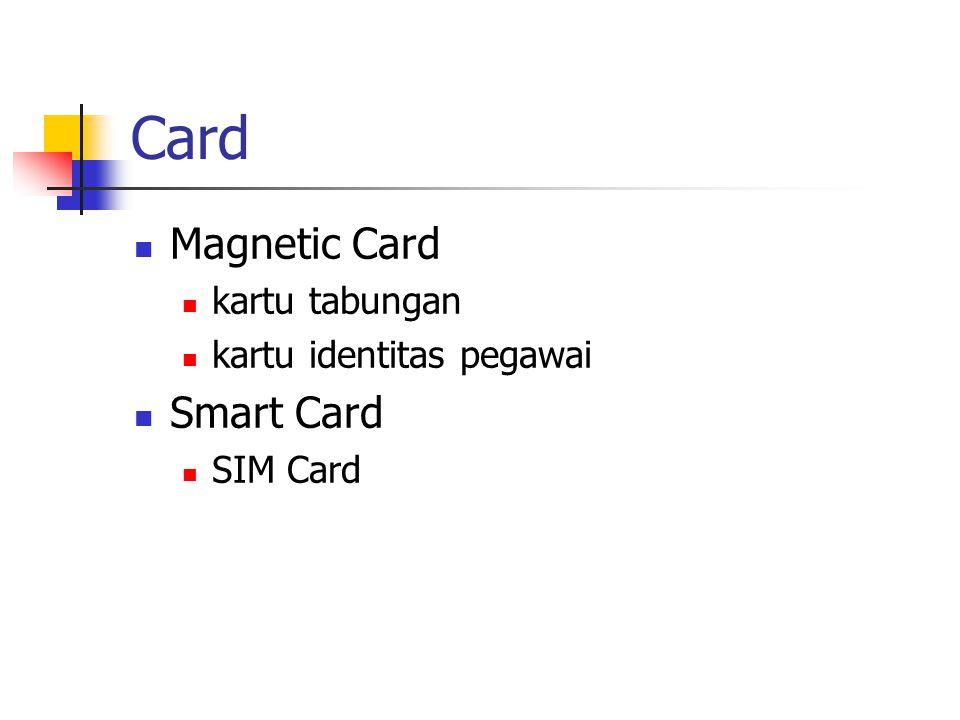 Card Magnetic Card Smart Card kartu tabungan kartu identitas pegawai