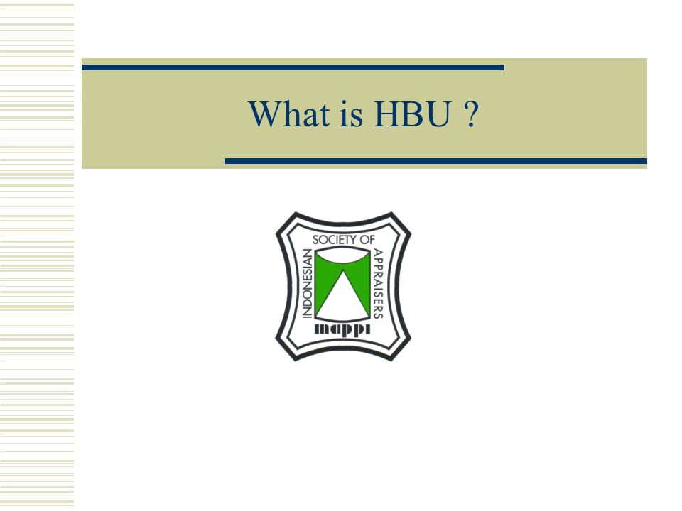 What is HBU