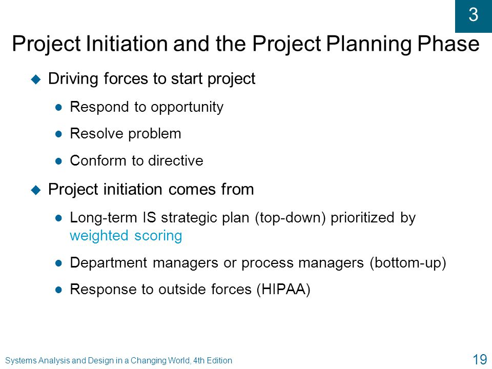 Project Initiation and the Project Planning Phase