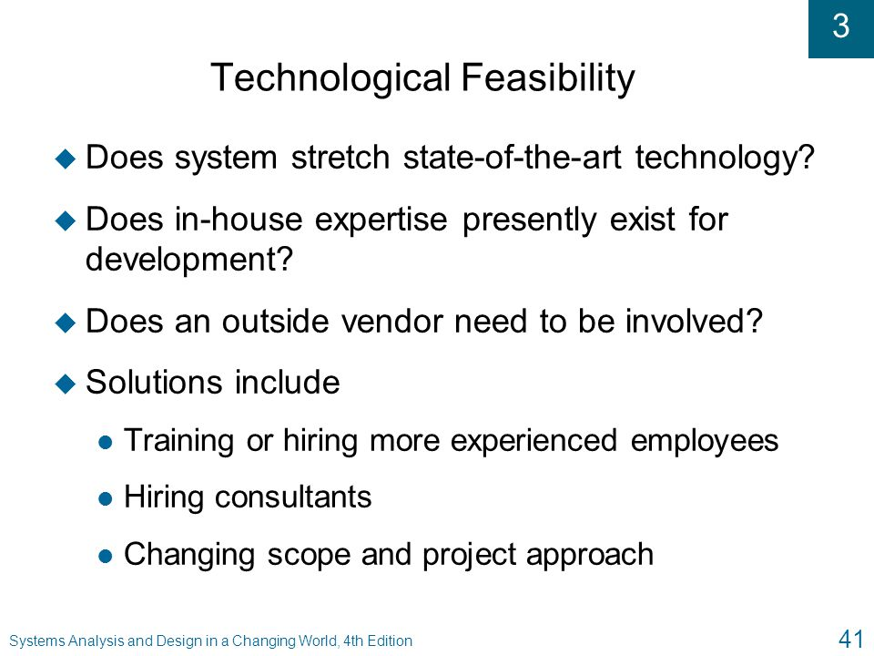 Technological Feasibility