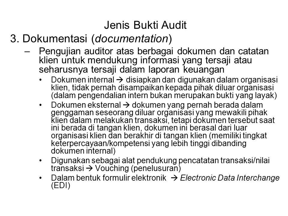 3. Dokumentasi (documentation)
