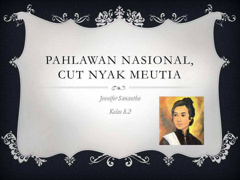 Pahlawan Nasional, Cut nyak meutia