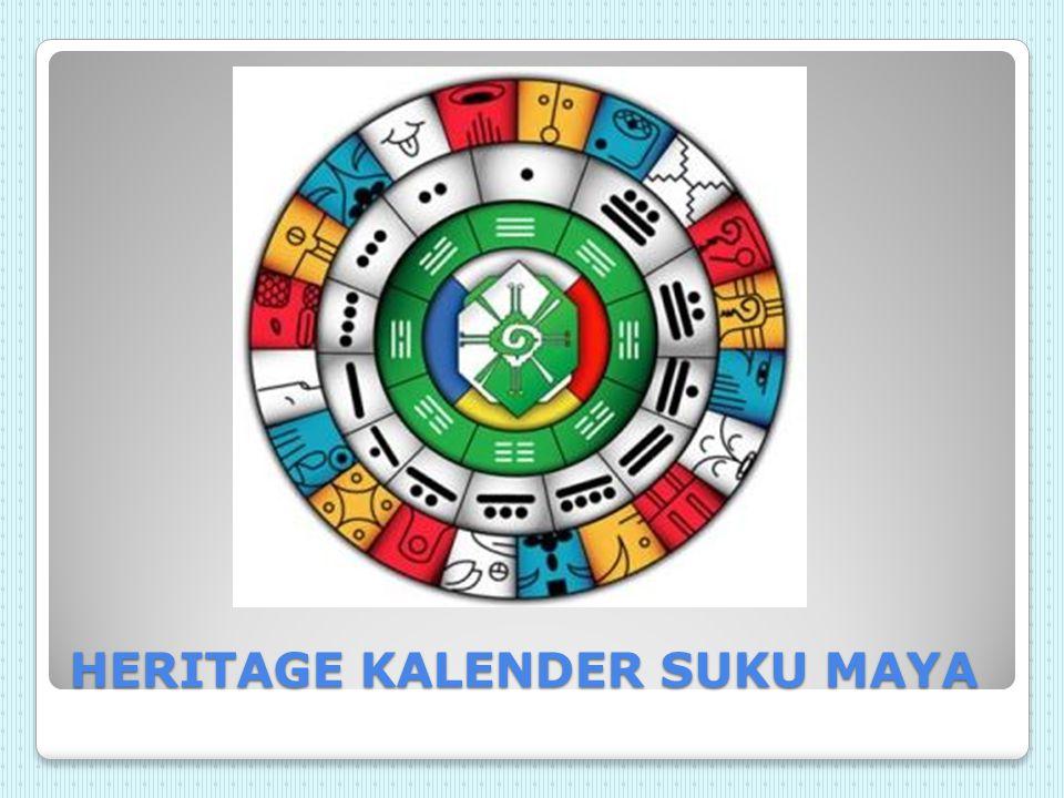 HERITAGE KALENDER SUKU MAYA