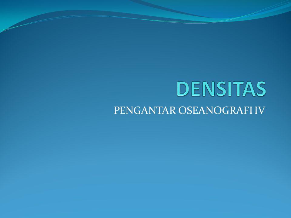 PENGANTAR OSEANOGRAFI IV
