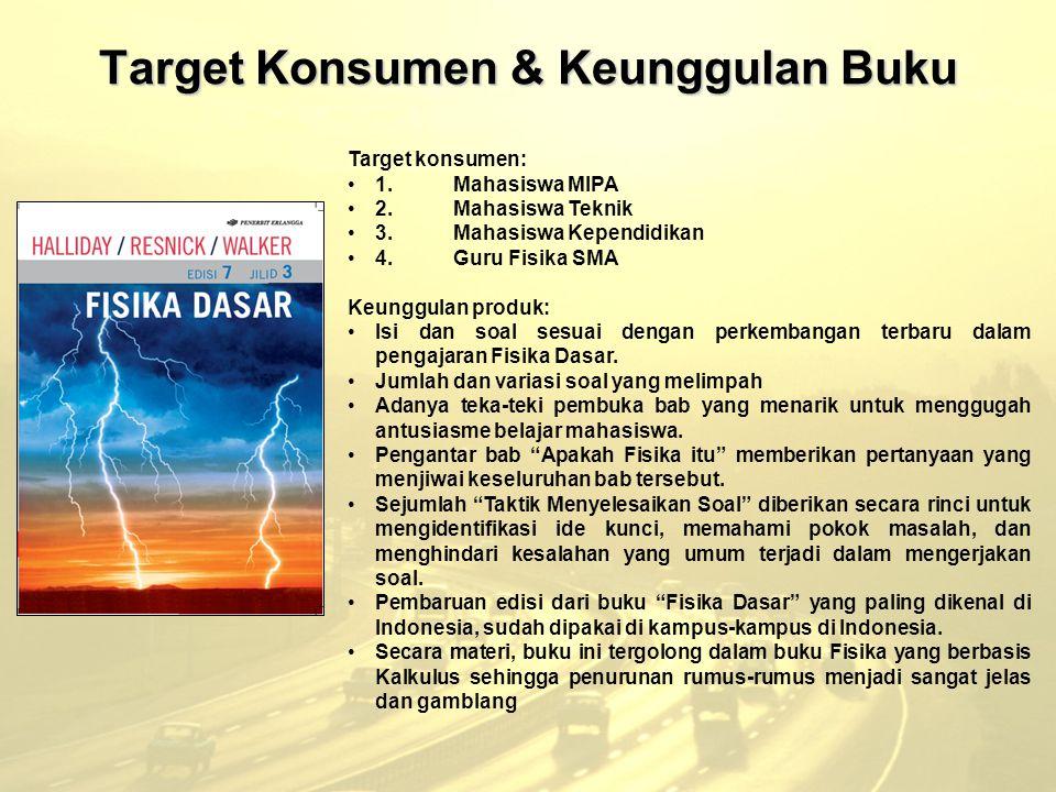Target Konsumen & Keunggulan Buku