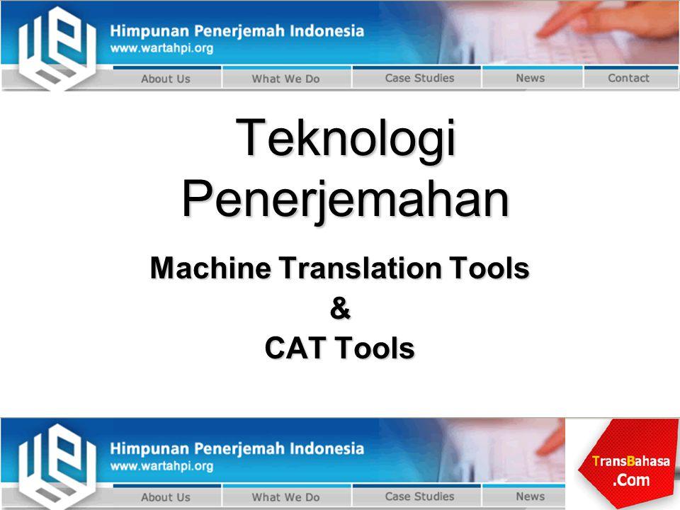 Teknologi Penerjemahan