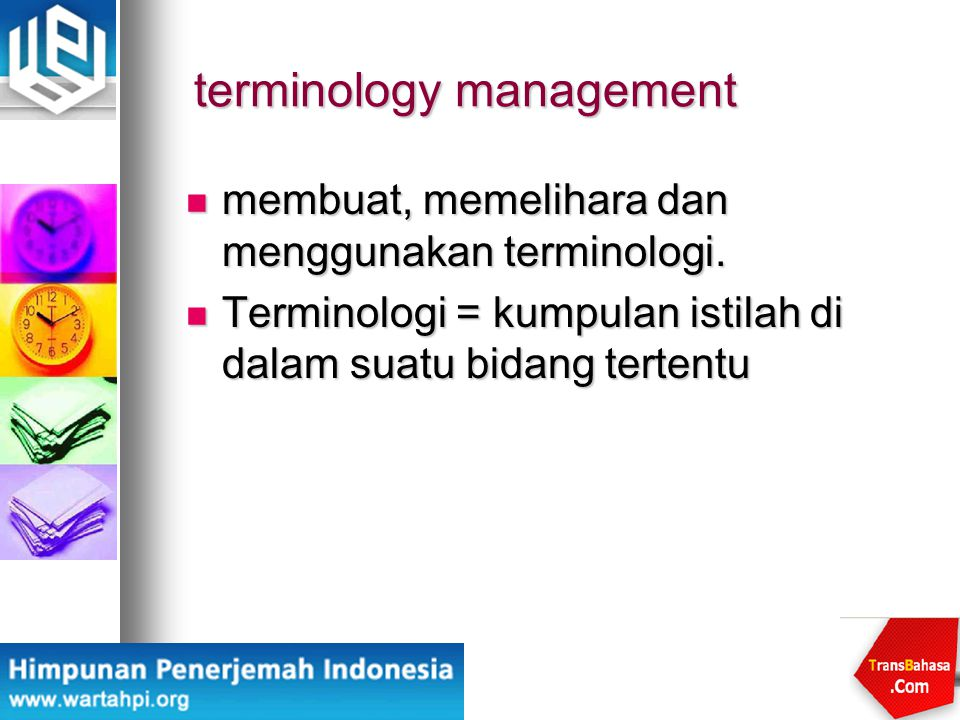 terminology management
