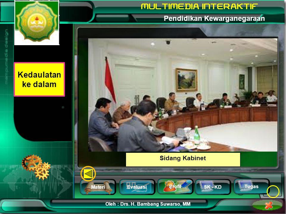 Kedaulatan ke dalam Sidang Kabinet