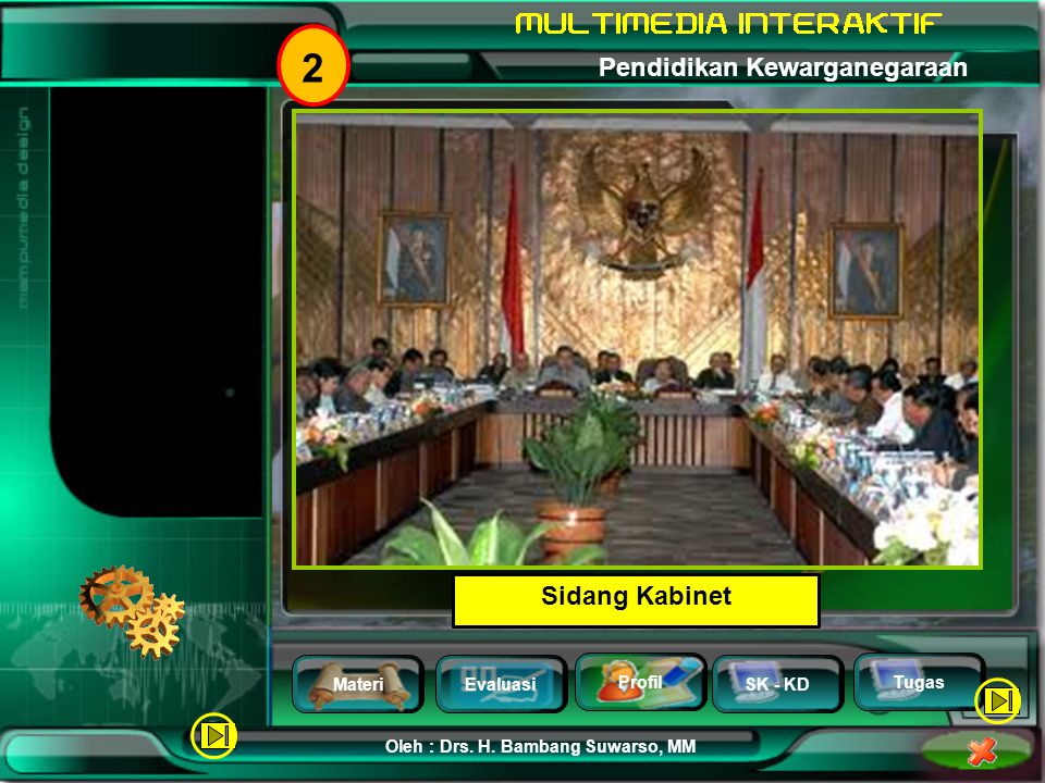 2 Sidang Kabinet