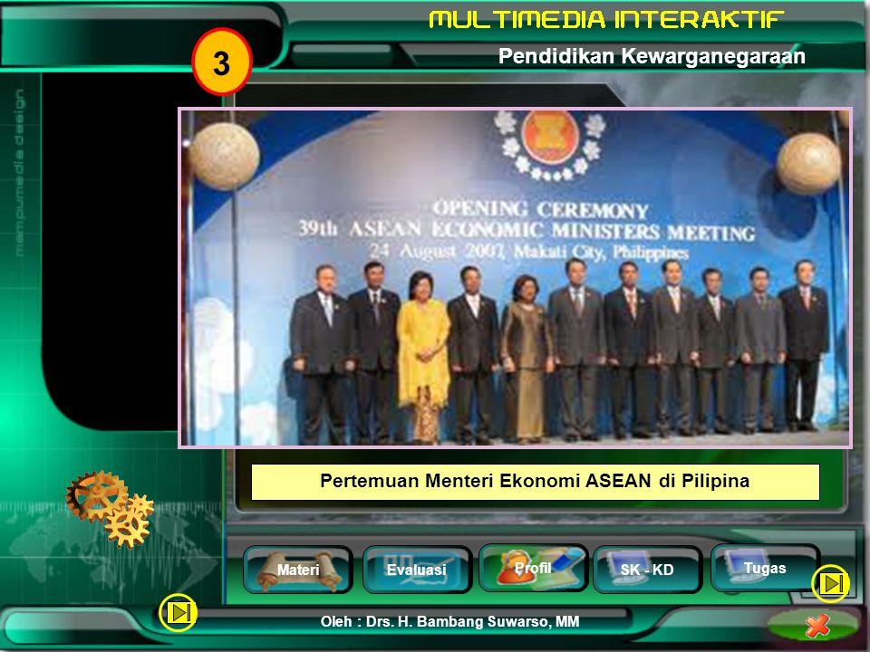 Pertemuan Menteri Ekonomi ASEAN di Pilipina