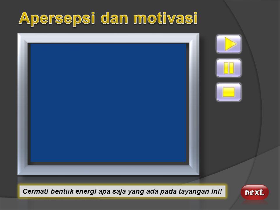 Apersepsi dan motivasi
