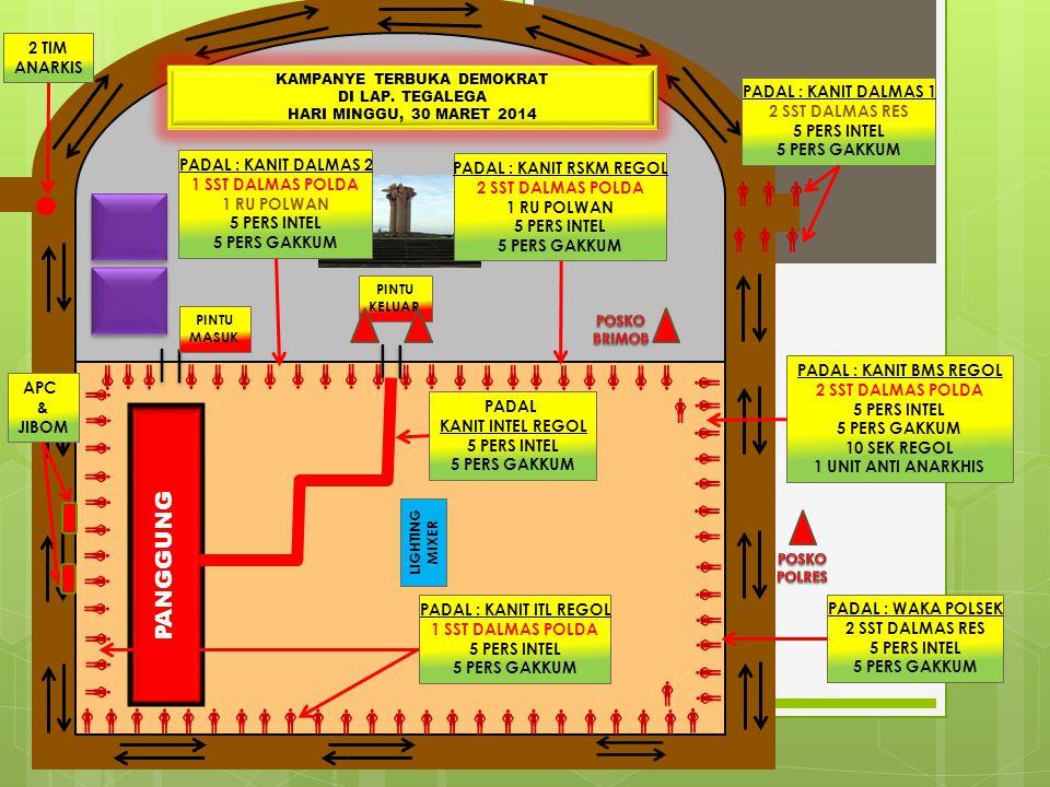 RING - III PAM LOKASI MENGINAP MINGGU, 30 MARET 2013