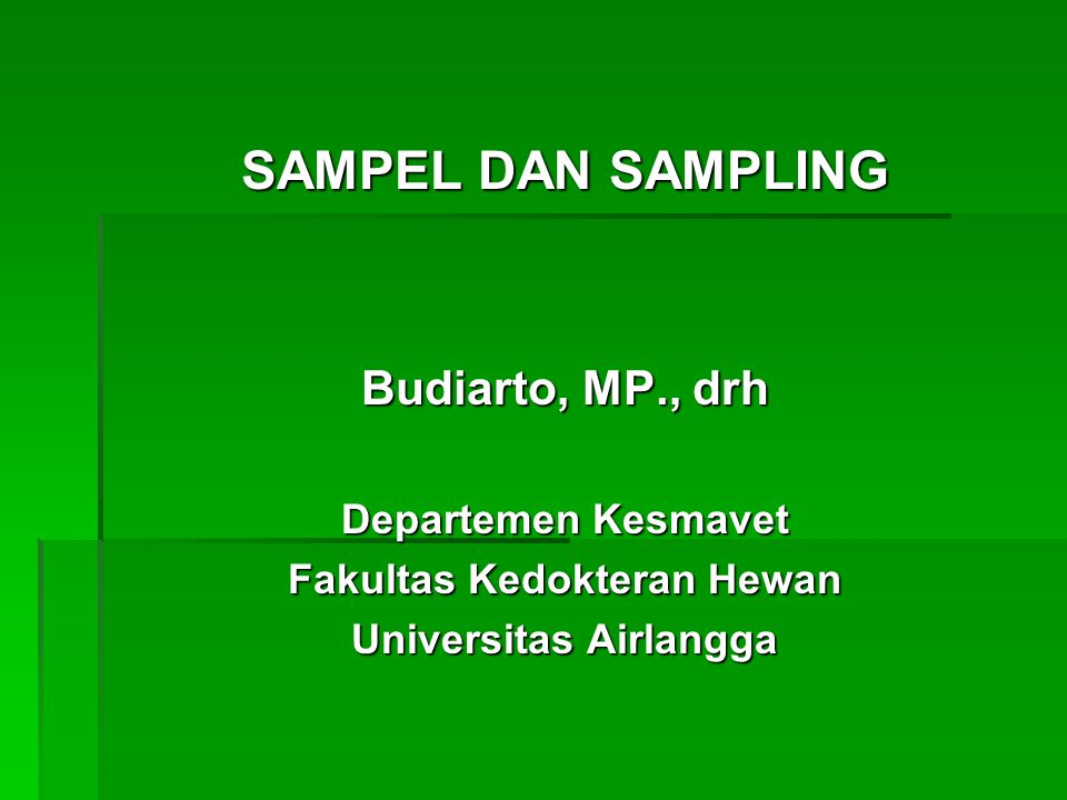 Fakultas Kedokteran Hewan Universitas Airlangga