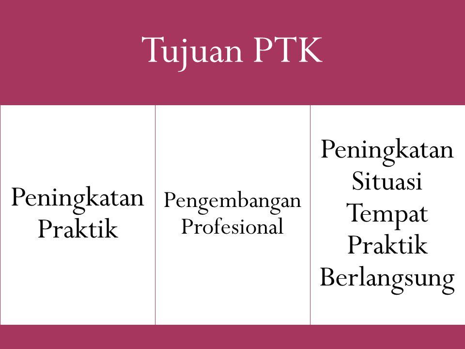Peningkatan Praktik Pengembangan Profesional Tujuan PTK