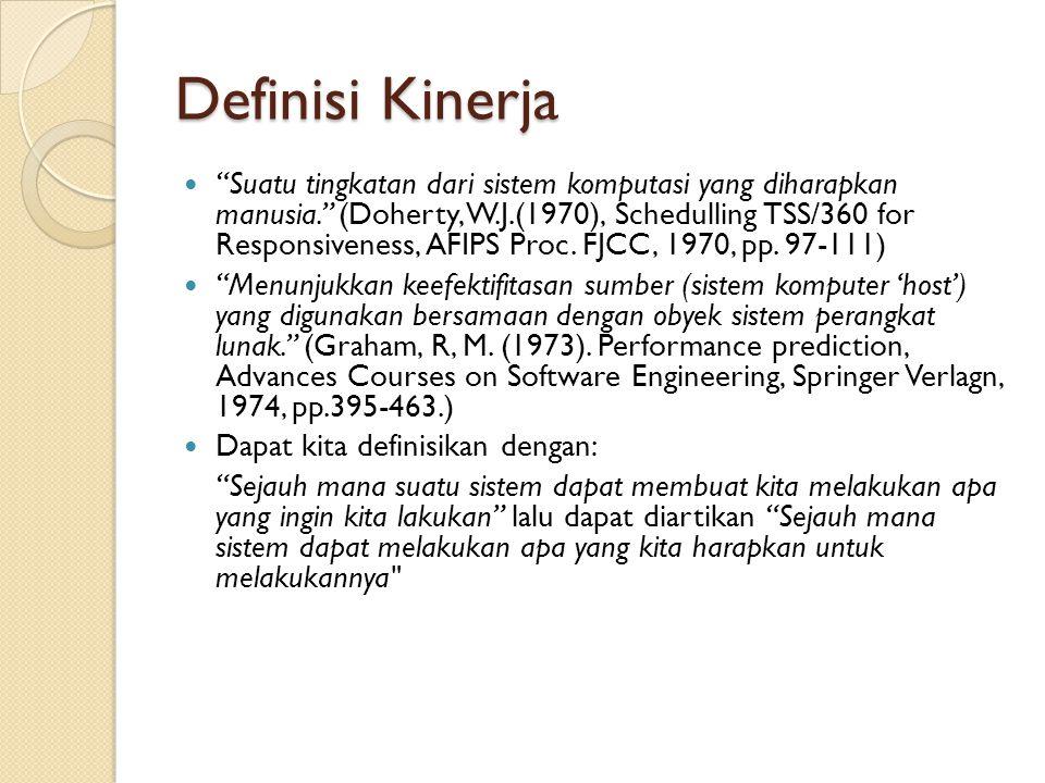 Definisi Kinerja