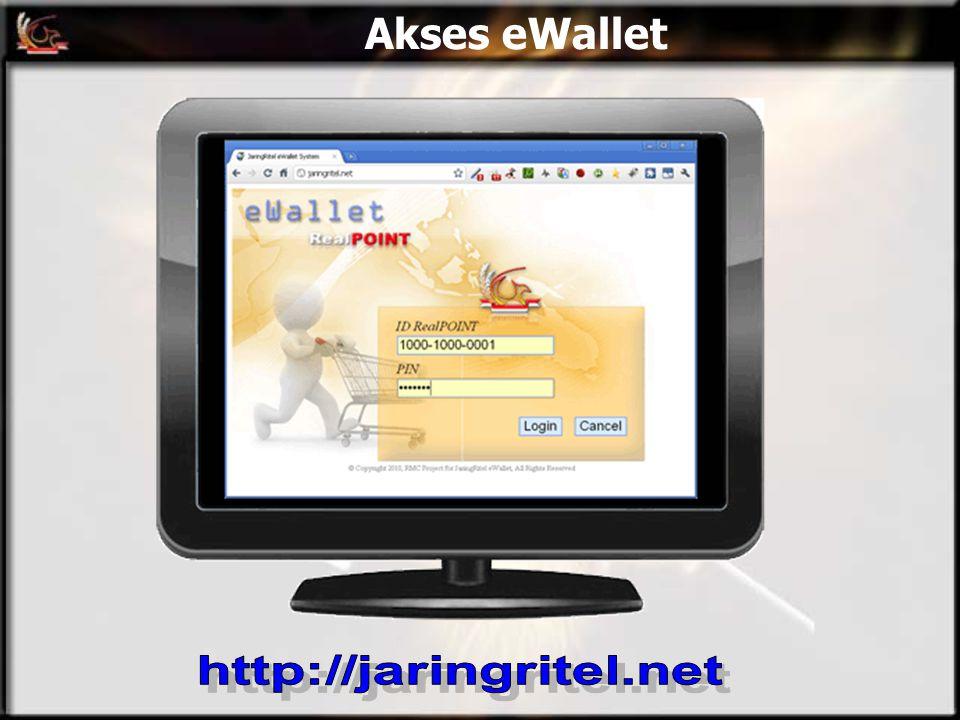 Akses eWallet http://jaringritel.net