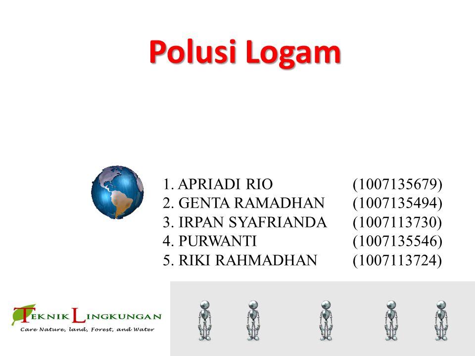 Polusi Logam By 2. GENTA RAMADHAN (1007135494)
