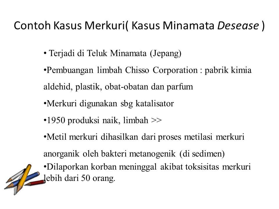 Contoh Kasus Merkuri( Kasus Minamata Desease )
