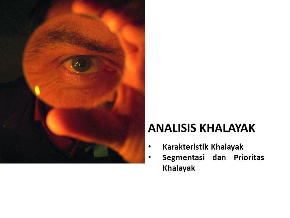 ANALISIS KHALAYAK Karakteristik Khalayak